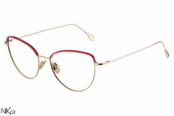 E5 - Rosé gold + Red